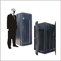 Rack para servidores 19 pulgadas 24 UR con aire acondicionado
