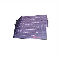 Charola para rack de 19 pulgadas apoyo central doble lado