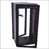 "Gabinete rack de pared 19"" 24 UR"