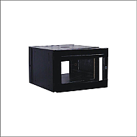 "Gabinete rack de pared 19"" 6 UR"