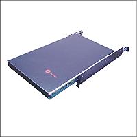 Charola para rack de 19 pulgadas cuatro puntos de apoyo ajustable deslizable