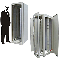 "Gabinete rack para servidores 19"" 40 UR"