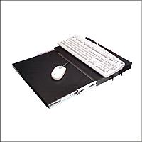 Charola para rack de 19 pulgadas deslizable para teclado y mouse