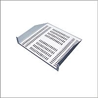 Charola para rack de 19 pulgadas apoyos al frente un lado